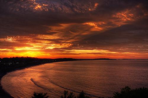 sunset sky boston landscape colorful massachusetts hullmassachusetts patrickcampagnone
