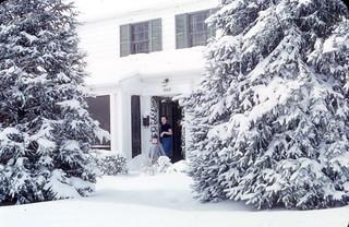 snow Dec 1954