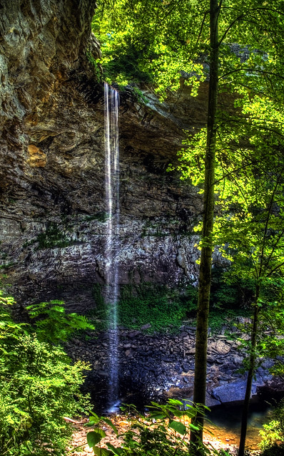 Ozone Falls, Ozone State Natural Area, Cumberland Co, TN