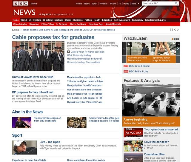 BBC News Redesign