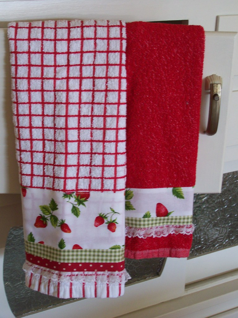 Strawberry Towel Set For Kitchen Decor A Flickr