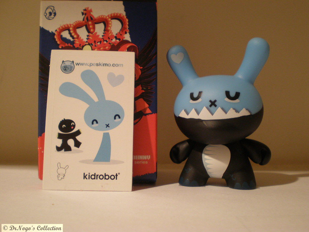 "Kidrobot-2009-Dunny-Ye Olde English ""Bunny Breath"" By Peskimo"