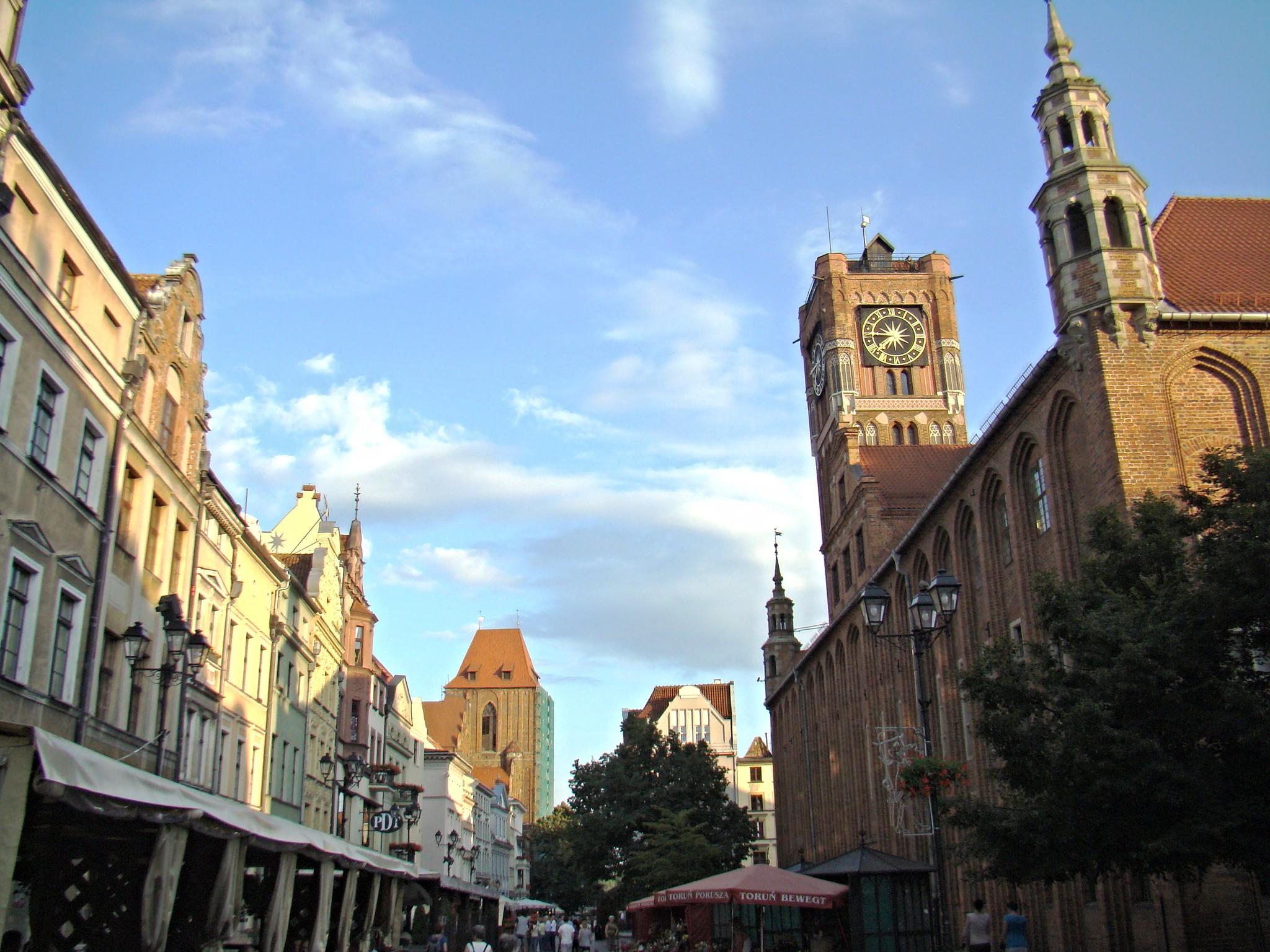edificio Ayuntamiento Torun Polonia