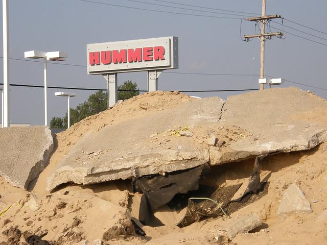 Hummer Demolition
