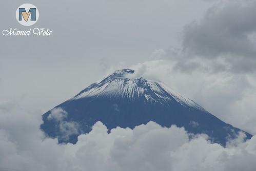 DSC00337 Majestuoso e imponente luce el Volcán Popocatépetl por LAE Manuel Vela