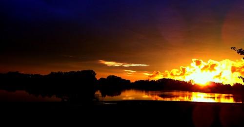 sunset iowa iphone4 aegonlake