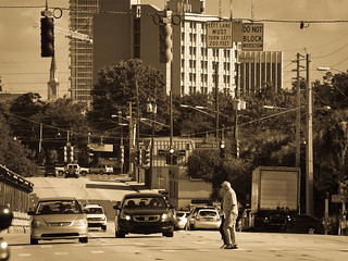 Downtown Orlando Orange Ave - test shot OM 65-200mm | by Bill Beebe
