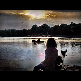 Loreley and her Dog | by h.koppdelaney