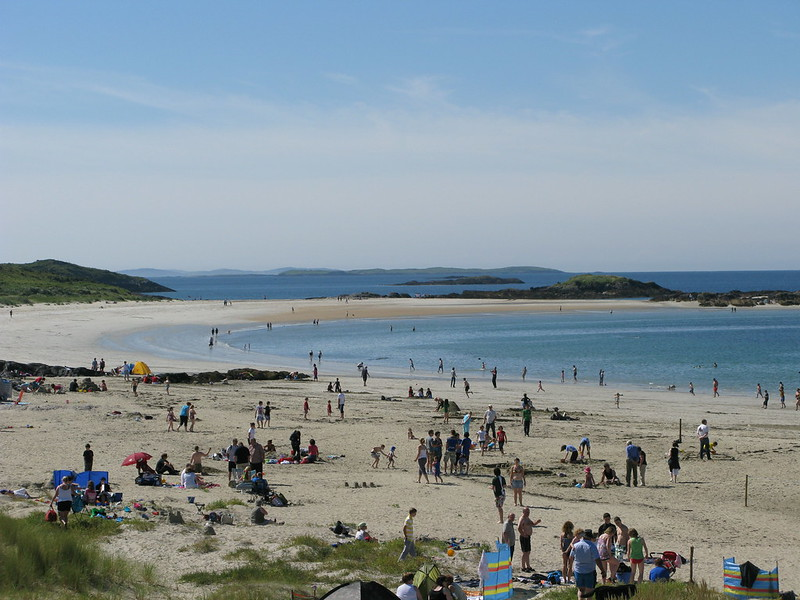 Sports Activity Day at Glassilaun Beach