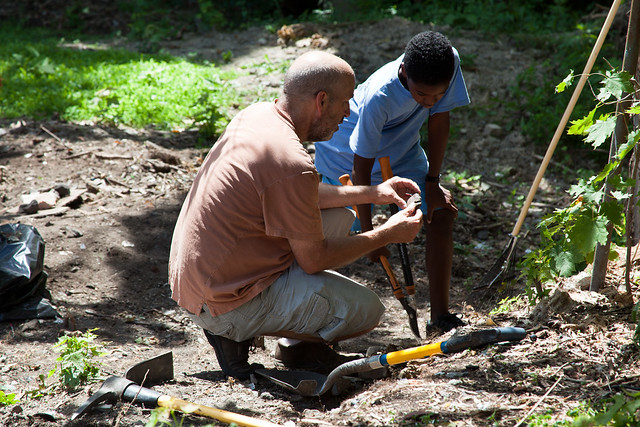 GSCA Vacant Lot Project (CR Permaculture Guild) - Albany, NY - 10, Jul - 15
