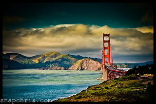 Stormy Golden Gate Bridge | by tibchris