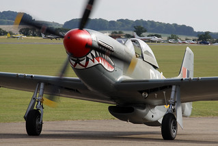 North American P-51D Mustang 44-73877 (G-SHWN) - Sharkmouth Limited - IWM Duxford, July 2017 | by StrikeEagle492