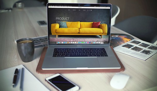 Entrepreneur Macbook Pro | by MorseInteractive
