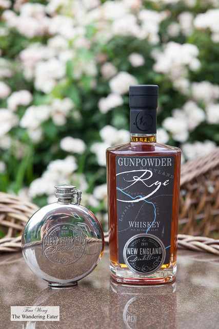 My take home gifts - Gunpowder Rye and a flask