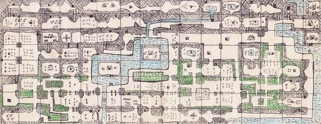 Legend of Zelda - Second quest map (early version) | Flickr on zelda nes map, zelda spirit tracks map, legend of zelda map, zelda wii u map, zelda hyrule map, zelda wind waker map, zelda map second level 2,