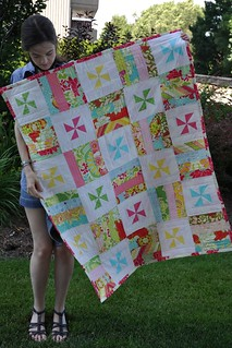 2-week quilt for little sister's birthday