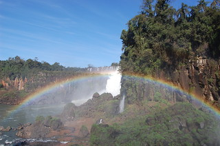 Rainbow at Iguazu Falls | by kawanet