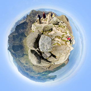 Goatfell Summit - Spherical Panorama | by andyspictures