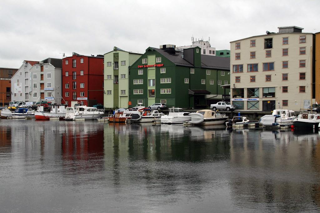 Den Grønne Brygge | Old houses in Trondheim. | Kevin