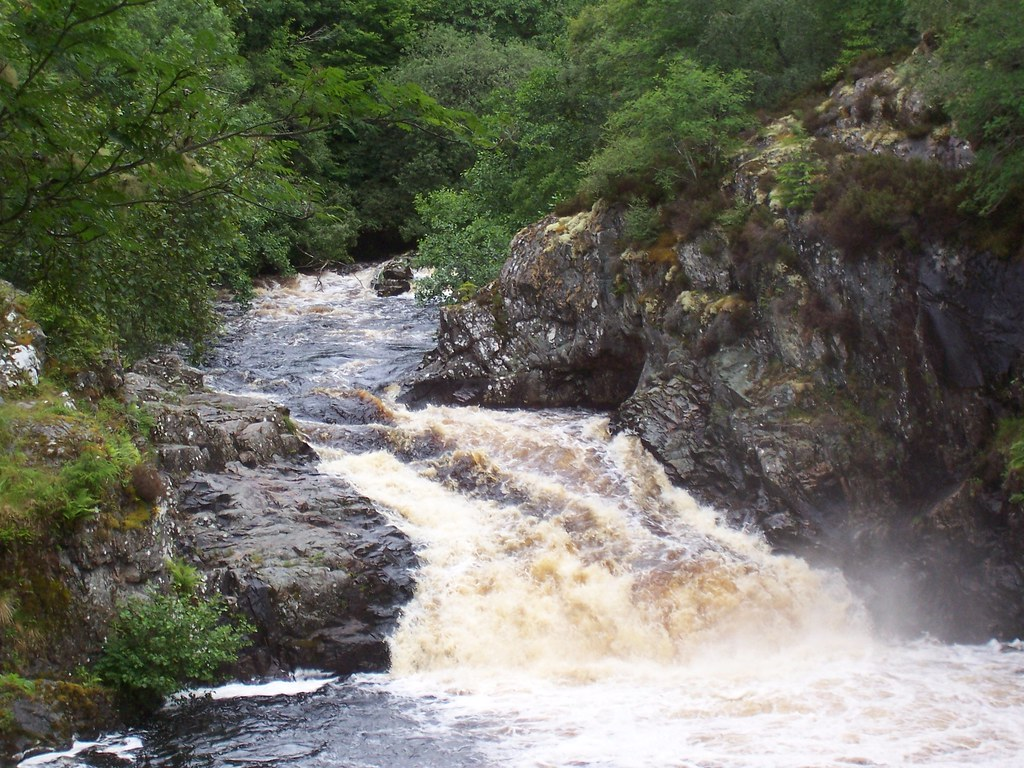Falls of Shin, Lairg, July 2010
