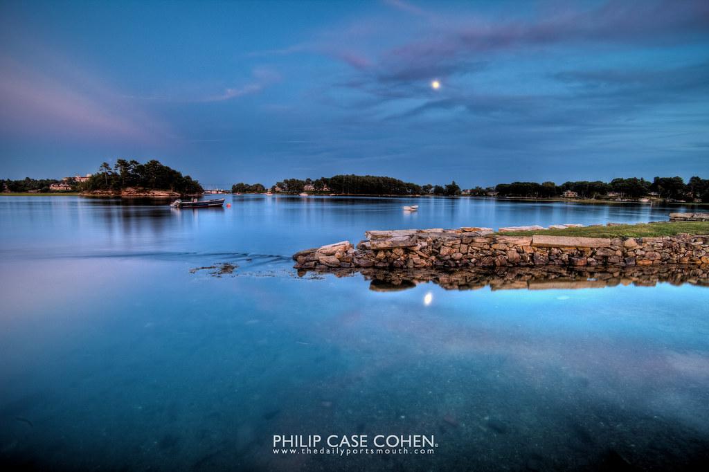 Moonlit Evening by Philip Case Cohen