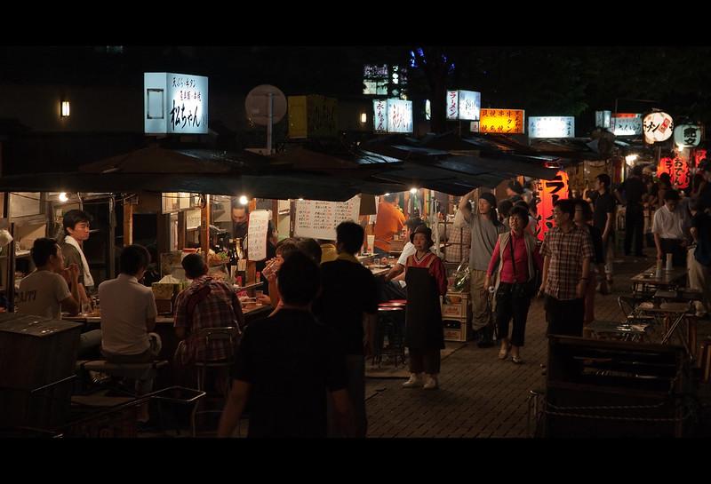 Bar Stalls in Fukuoka