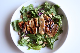 Grilled Raspberry-Chipotle Chicken Salad   by alanagkelly