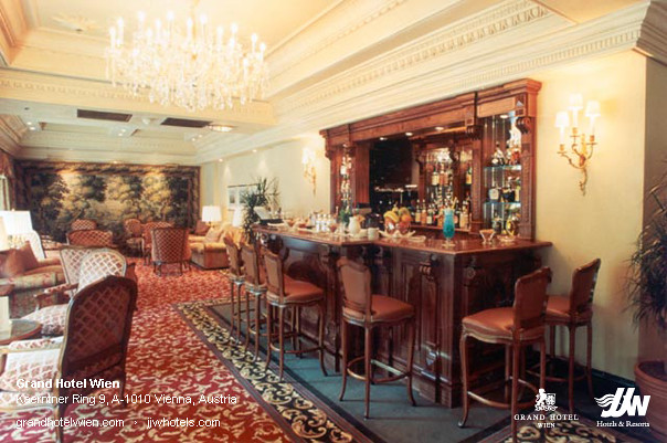 Kavalierbar At Grand Hotel Wien In Vienna Kavalierbar At G Flickr