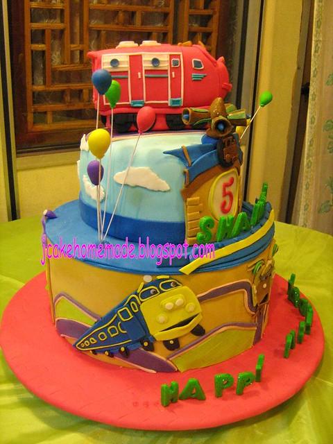Chuggington Theme cake