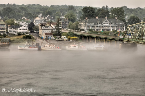 Docked in The Fog by Philip Case Cohen