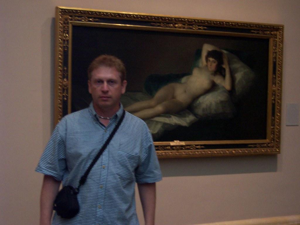 La Maja Desnuda De Goya Museo Del Prado Madrid 2003 Flickr
