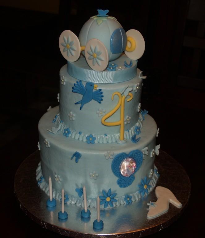 Fabulous Cinderella Birthday Cake Cake Made For A Very Special Litt Flickr Funny Birthday Cards Online Drosicarndamsfinfo
