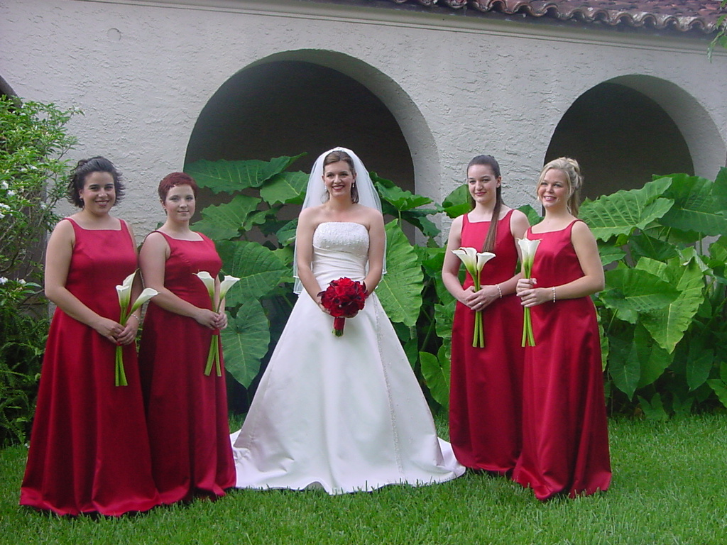 Red Bridal Bouquet And White Calla Lily Bouquets Simple St Flickr