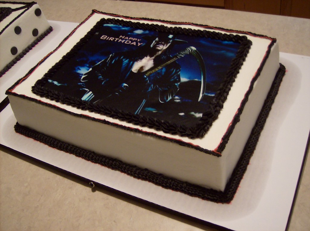 Fabulous Wwe Undertaker Birthday Cake Pams Homemade Cakes Flickr Funny Birthday Cards Online Alyptdamsfinfo
