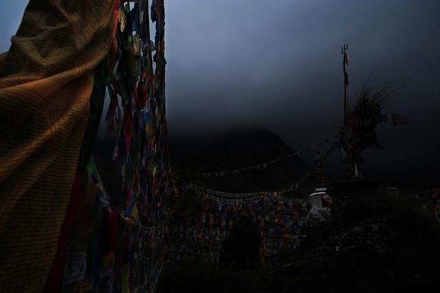 Tibet. Morning. 2