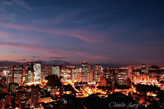 Lapa vista de Santa Teresa - Rio de Janeiro - Brasil    #CLAUDIOperambulando