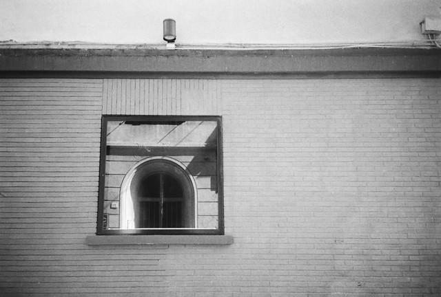 door in window