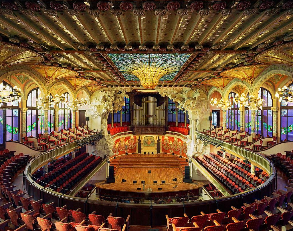 Palau De La Musica Catalana Barcelona Spain Vitalysky Flickr