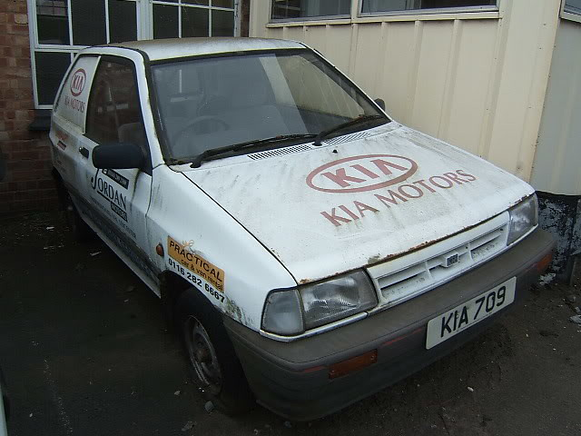 OCTOBER 1992 KIA 1324cc PRIDE VAN KIA709 | Registration KIA7