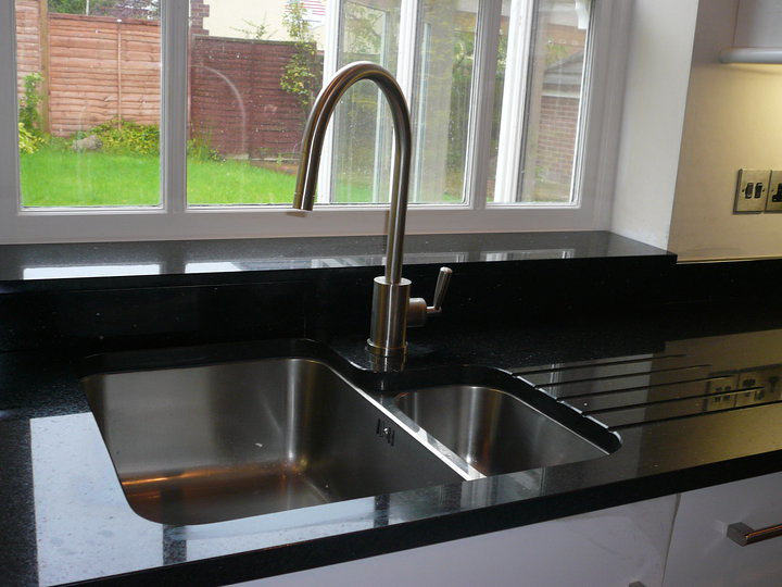 Nero Assoluto Granite Sink And Kitchen Worktops Roberto Ma
