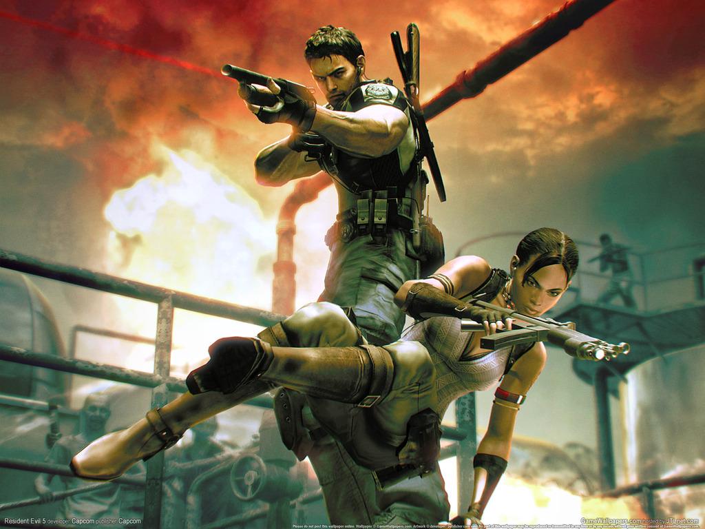 Resident Evil 4 Game Wallpaper Resident Evil 4 Game Wallpa Flickr
