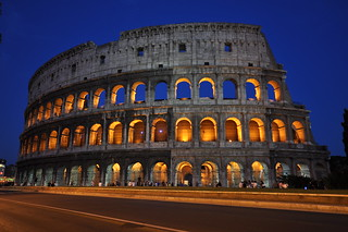 Colosseum by night, Rome   by Kristof Verslype