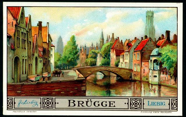 Liebig S1311 - European Cities - Brugge