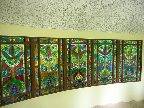 The five Nevsky windows by John Hardisty