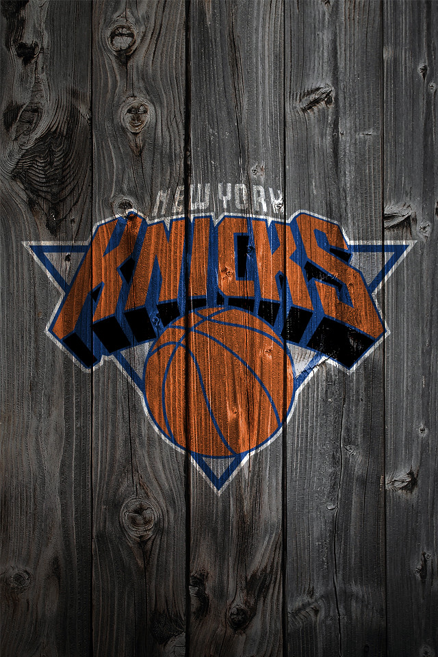New York Knicks Wood Iphone 4 Background Kristopher Legg Flickr