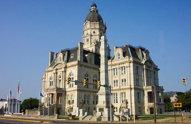 Terre Haute, IN ~ Vigo County Courthouse