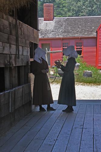 barn oldsturbridgevillagesturbridge massachusetts1830s