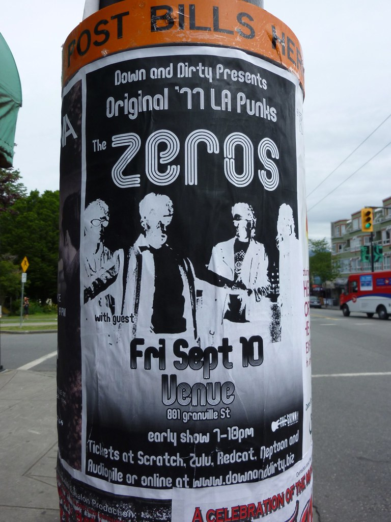 Zeros In 1977 The Zeros Played Their First Major Gig In