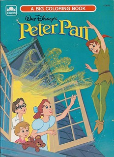 Walt Disney\'s Peter Pan coloring book, 1989 | Found this at ...