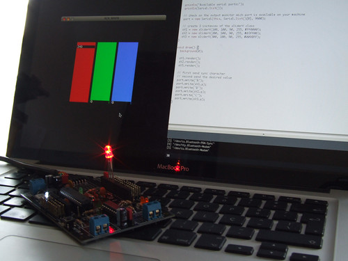 RGB Mixer - Processing to Arduino | by guibot